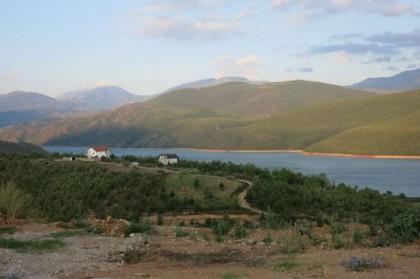 Albania Kukes Gjallica Fierza lake
