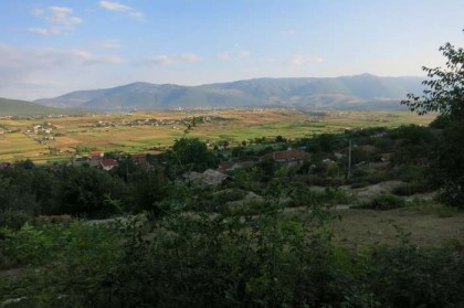 Albania Kukes Gjallica low view