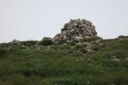 Albania Kukes Gjallica mountain peak