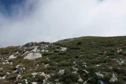 Albania Kukes Gjallica near peak