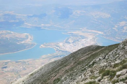 Albania Kukes Gjallica peak view