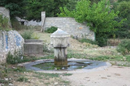 Albania Kukes Gjallica spring water