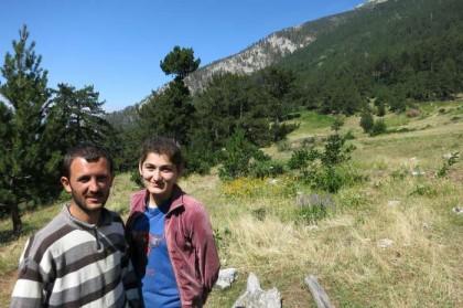Albania Kukes Gjallica village family