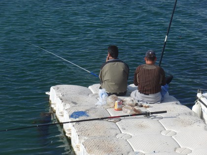 Ayia Napa fishermen