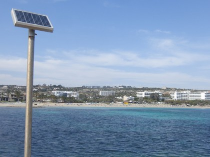Ayia Napa solar power