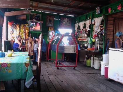 Bluefields, Nicaragua: restaurant interior