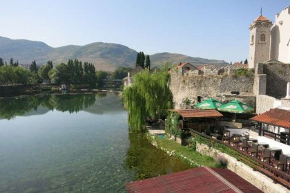 Bosnia & Herzegovina, Trebinje: river