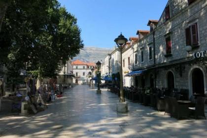 Bosnia & Herzegovina, Trebinje: street