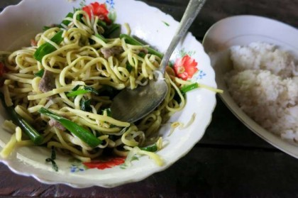 Cambodian food noodles