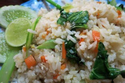 Cambodian food rice