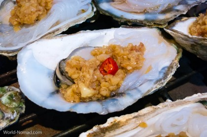 China-oyster-food