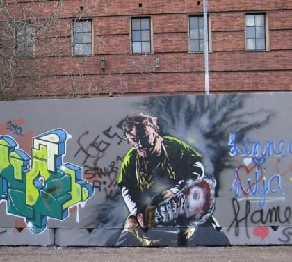 Graffiti - Copenhagen, Denmark
