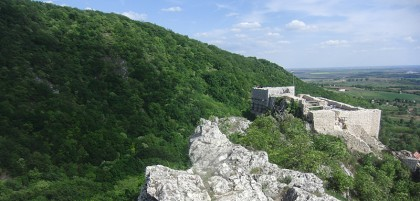 Csókakő Castle in Hungary