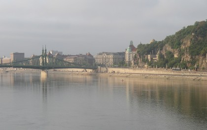 Gellért-hegy with Liberty Bridge