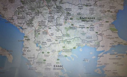 Google Maps South Europe map