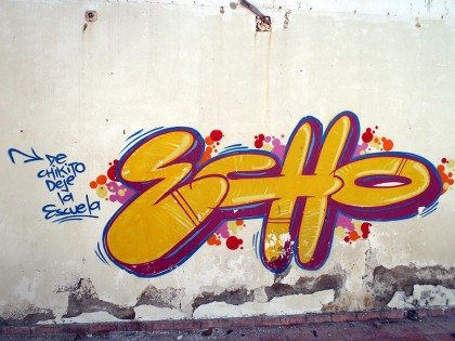 Graffiti El Salvador