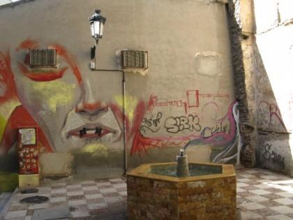 Graffiti - Granada, Spain