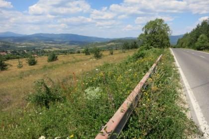 Hitchhiking Macedonia Bulgaria beautiful road