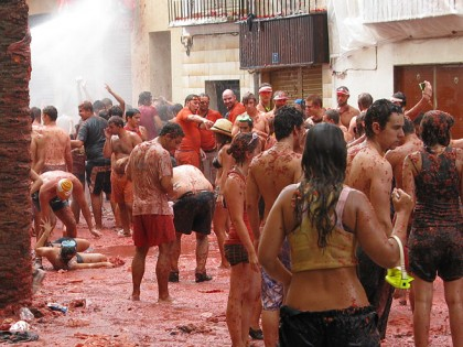 La Tomatina - afterparty