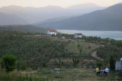 Kukes Albania lake