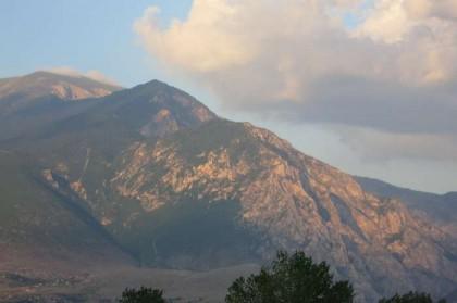 Kukes Albania mountain