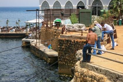 Lebanon Beirut fishermen