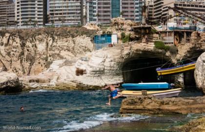 Lebanon Beirut coast