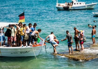 Lebanon Tripoli boat