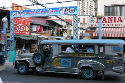 Philippines, Manila - jeepney bus