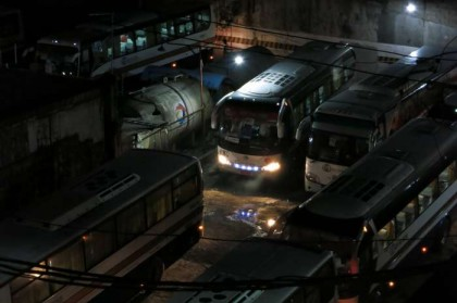 Philippines, Manila - night buses