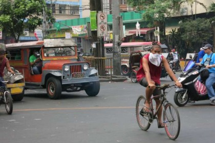 Philippines, Manila - traffic