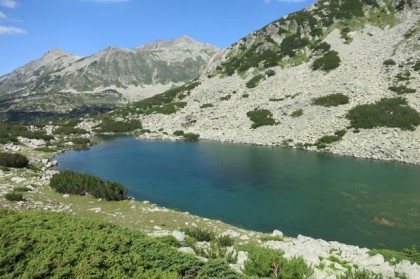 Pirin Mountains lake