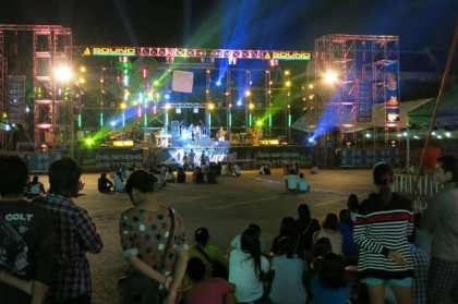 Ratchaburi festival concert