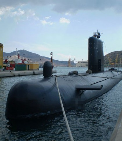 Submarine in Cartagena