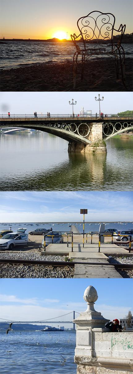Tarifa to Seville to Faro to Lisbon (Spain to Portugal)