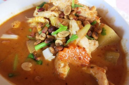Thai food: curry