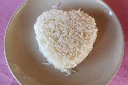Thai food: heart rice