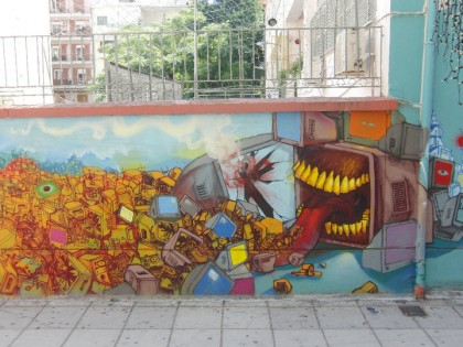 Graffiti - Thessaloniki, Greece