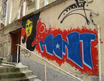 Graffiti - Veliko Ternovo, Bulgaria