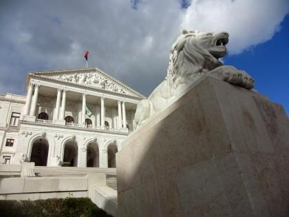 Assembleia da Republica government building, Lisbon (Portugal)