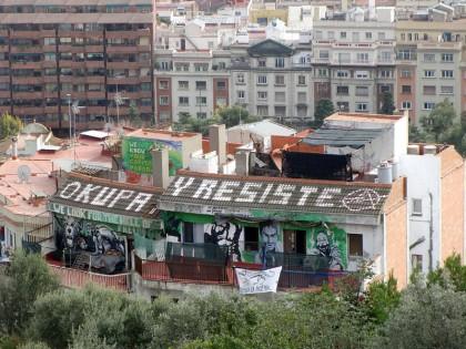 Barcelona okupa y resiste (squat)