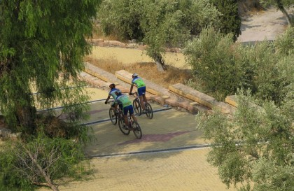 Bicycle race in Murcia