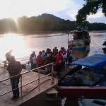 Bluefields to El Rama with panga (speed boat)