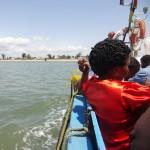 Boat Maputo to Zitundo, Mozambique
