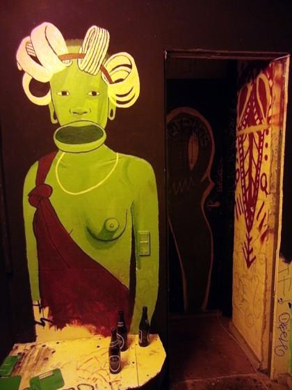 Bolsjefabrikken graffiti