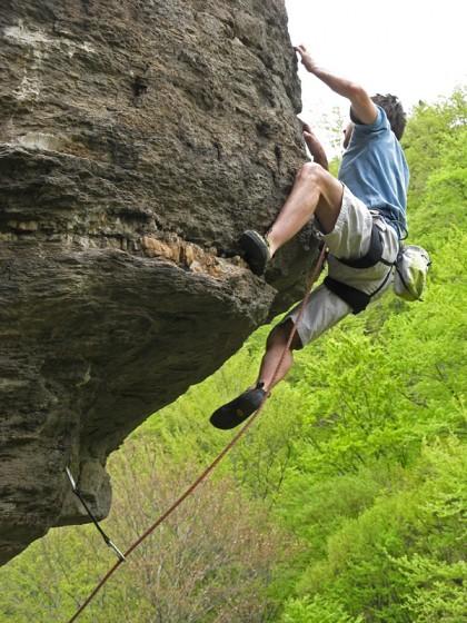 Brjanovshtitza climbing