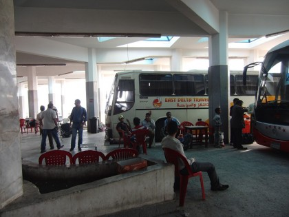 Bus station Sharm El-Sheikh