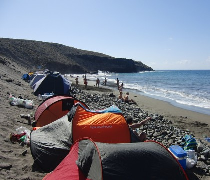 Camping en Gran Canaria