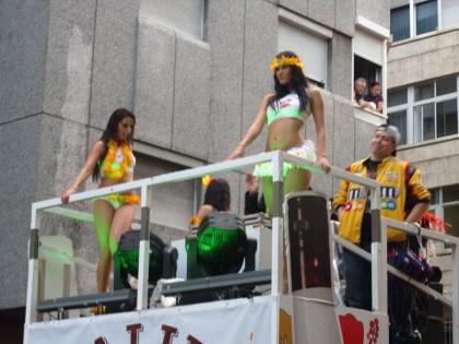 Carnaval sexy dancers