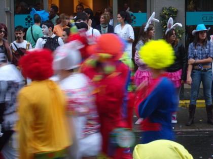 Carneval crowd, Las Palmas de Gran Canaria